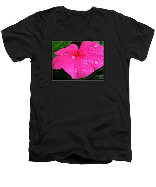 Men's V-Neck T-Shirt featuring the photograph Sliders by Patti Whitten