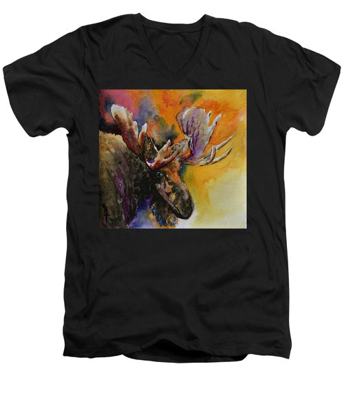 Sly Moose Men's V-Neck T-Shirt