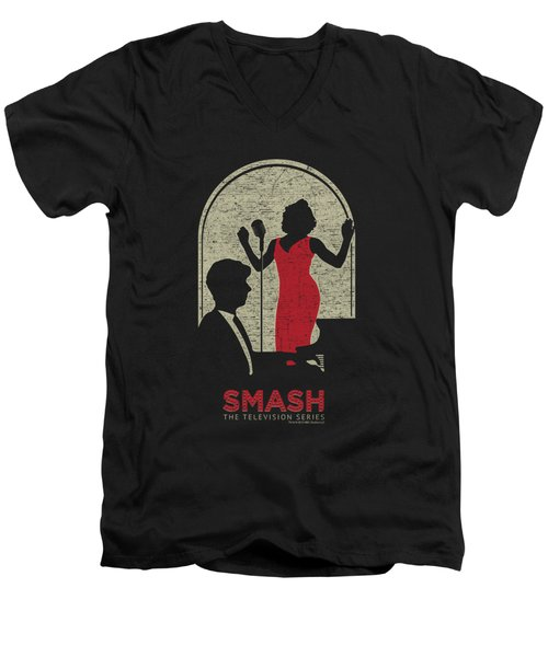 Smash - Stage Men's V-Neck T-Shirt by Brand A