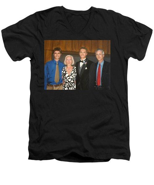 Smith Family Portrait Men's V-Neck T-Shirt