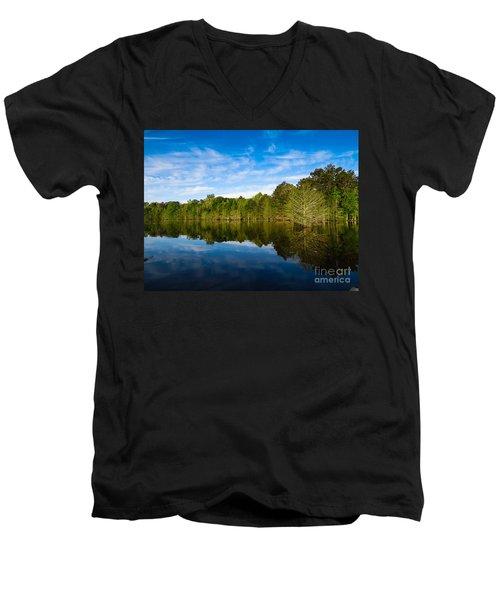Smooth Reflection Men's V-Neck T-Shirt