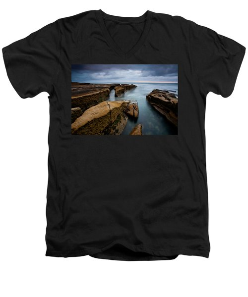 Smooth Seas Men's V-Neck T-Shirt