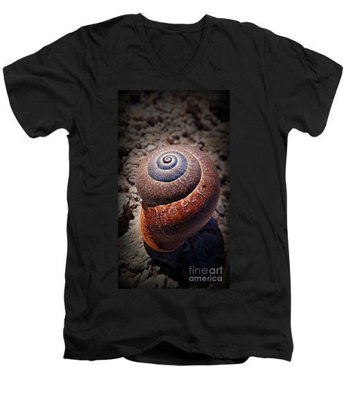 Snail Beauty Men's V-Neck T-Shirt