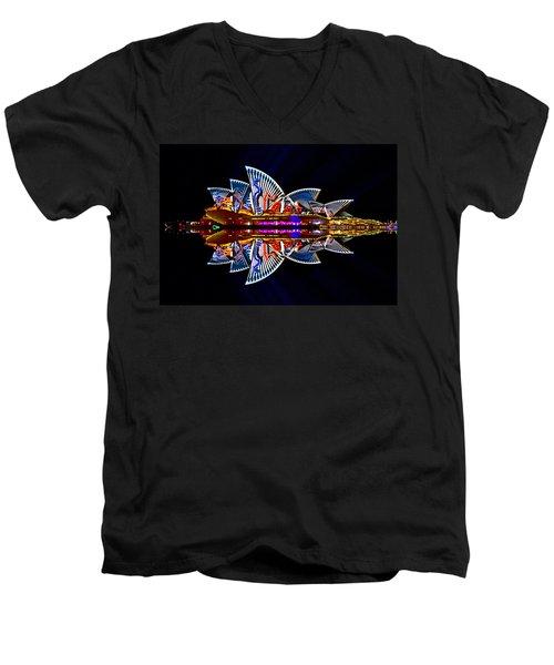 Snakes On The Opera House Men's V-Neck T-Shirt