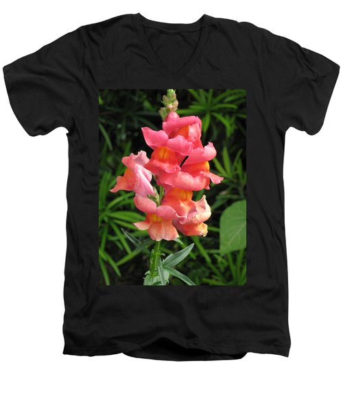 Snapdragon Men's V-Neck T-Shirt
