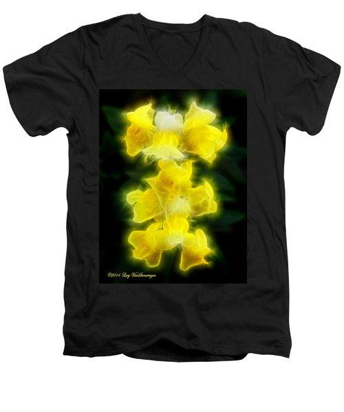 Snappy Dragons Men's V-Neck T-Shirt
