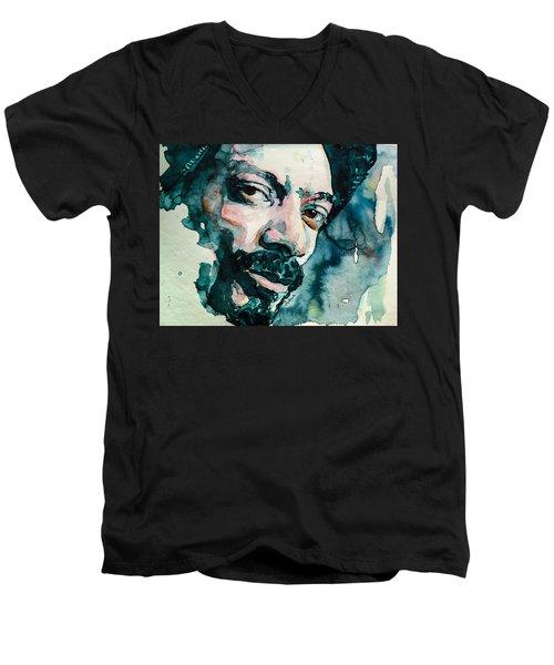 Snoop's Upside Ya Head Men's V-Neck T-Shirt