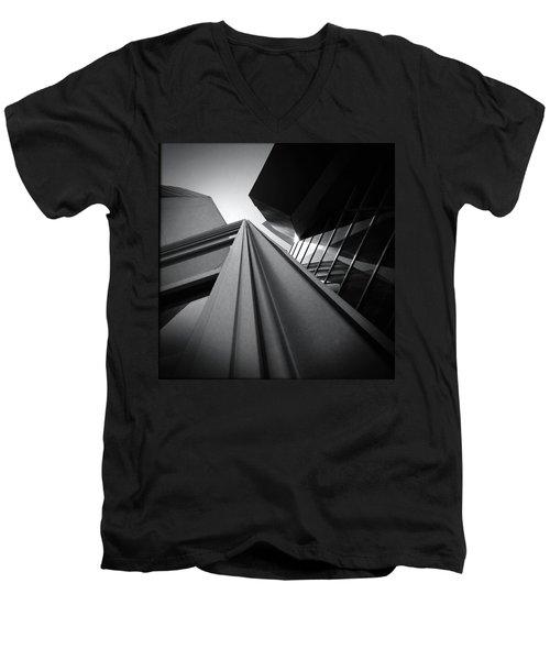 Soaring Planes Men's V-Neck T-Shirt by Mark David Gerson