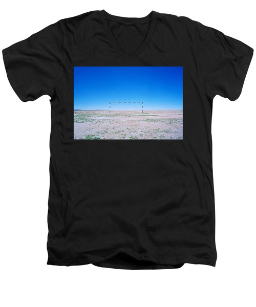 Field Of Dreams Men's V-Neck T-Shirt by Shaun Higson