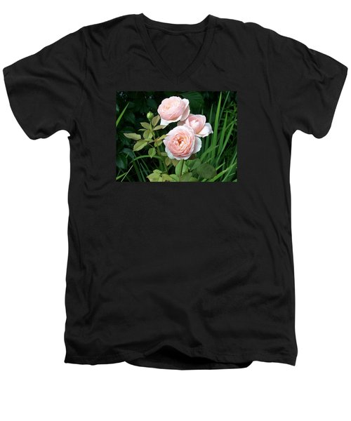 Soft Trio Men's V-Neck T-Shirt by Catherine Gagne