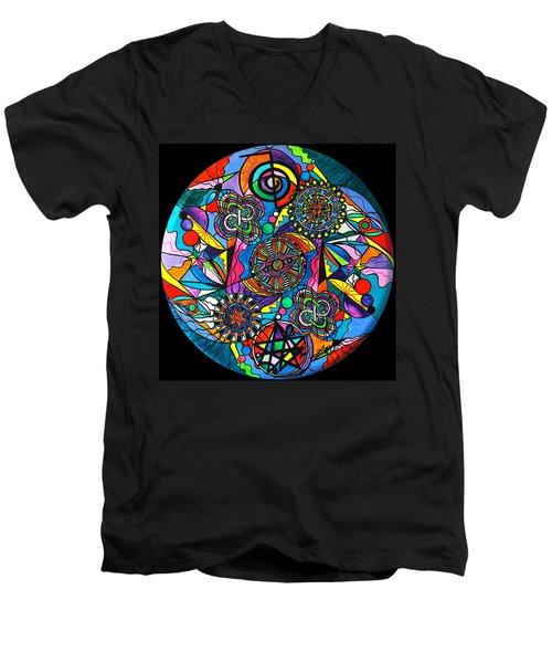 Soul Retrieval Men's V-Neck T-Shirt