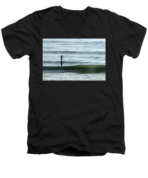 Soul Searcher Men's V-Neck T-Shirt by Shoal Hollingsworth