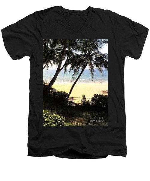 South Beach - Miami Men's V-Neck T-Shirt