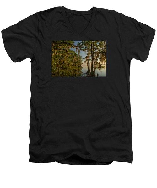Southern Beauty  Men's V-Neck T-Shirt
