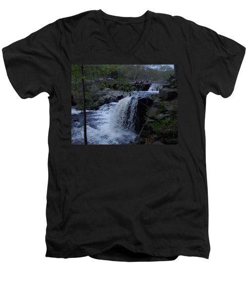 Southford Falls Men's V-Neck T-Shirt