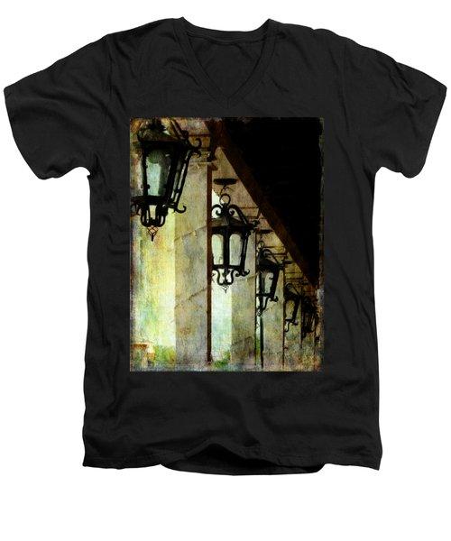 Spanish Lights Men's V-Neck T-Shirt