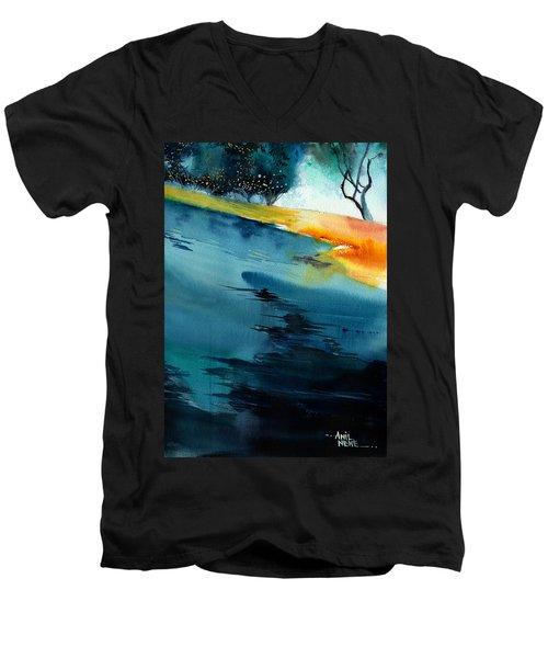 Spatial 1 Men's V-Neck T-Shirt