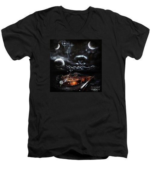 Speak Men's V-Neck T-Shirt