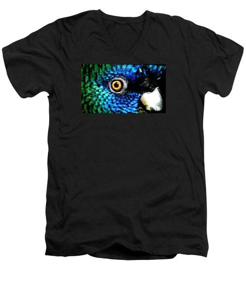 Speaking Eye  Men's V-Neck T-Shirt