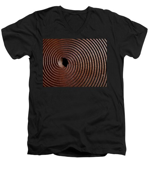 Spiral Men's V-Neck T-Shirt