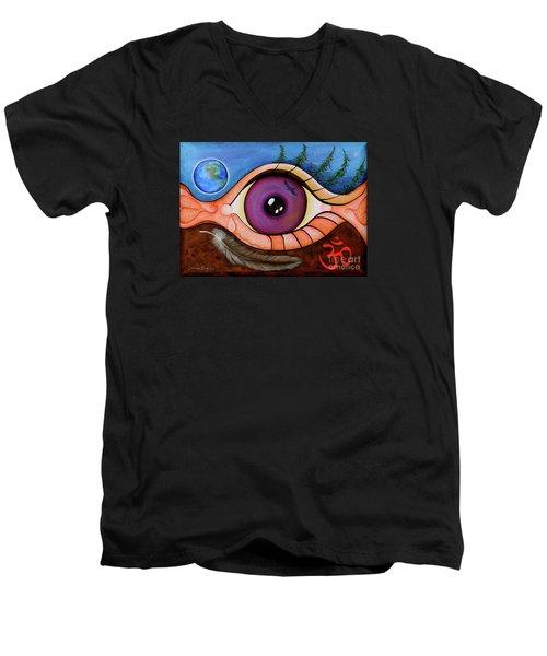 Spirit Eye Men's V-Neck T-Shirt