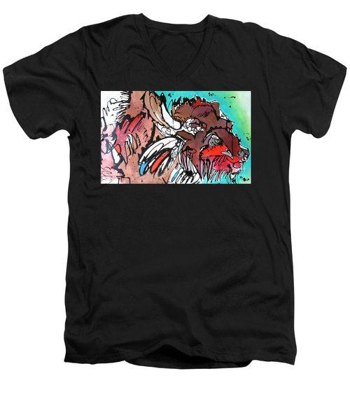 Spirit Guide Men's V-Neck T-Shirt