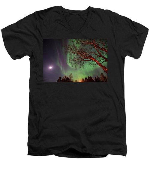 Spirits Of The Night    Men's V-Neck T-Shirt