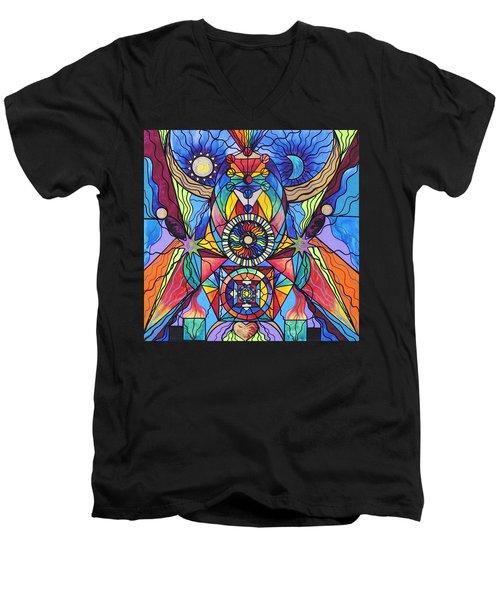 Spiritual Guide Men's V-Neck T-Shirt