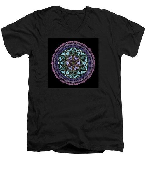 Spiritual Heart Men's V-Neck T-Shirt