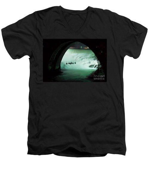 Spokane Falls Men's V-Neck T-Shirt