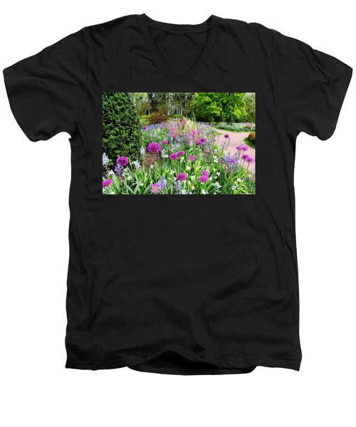 Spring Gardens Men's V-Neck T-Shirt