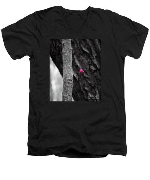 Spring Growth Men's V-Neck T-Shirt