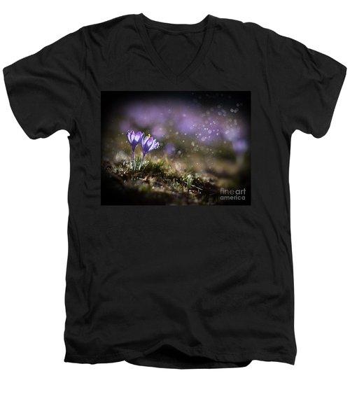 Spring Impression I Men's V-Neck T-Shirt