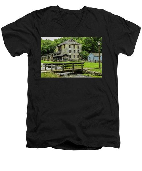 Spring Mill Men's V-Neck T-Shirt