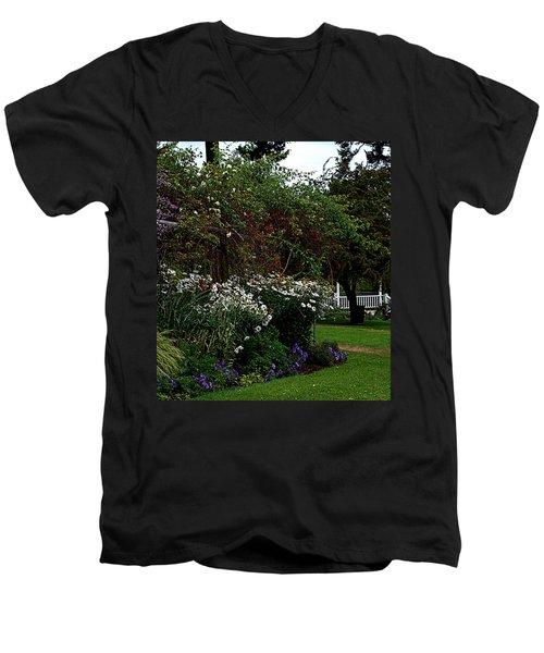 Springtime In The Park Men's V-Neck T-Shirt