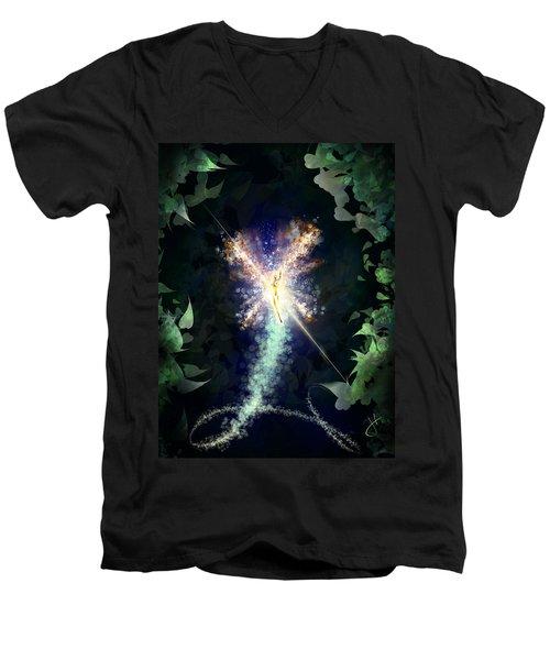 Sprite Fotzepolitic Men's V-Neck T-Shirt