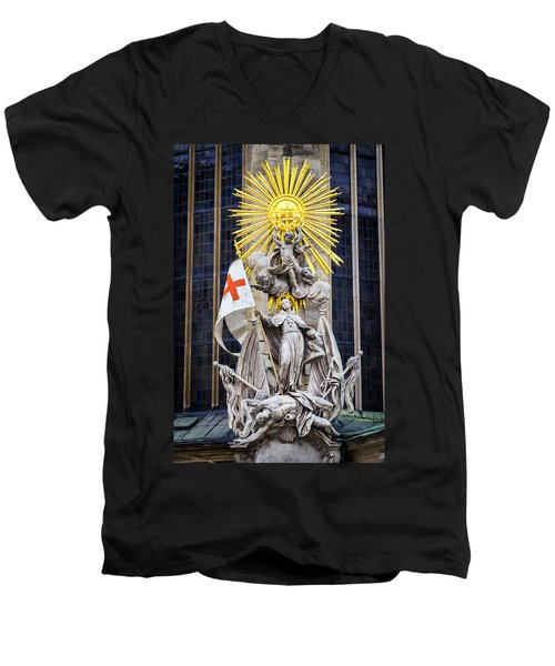 St. John Of Capistrano In Vienna Men's V-Neck T-Shirt