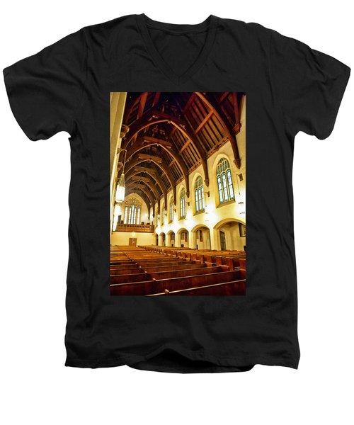 St. Vincent De Paul Church Men's V-Neck T-Shirt