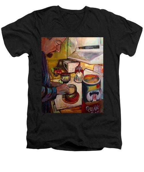 St014 Men's V-Neck T-Shirt