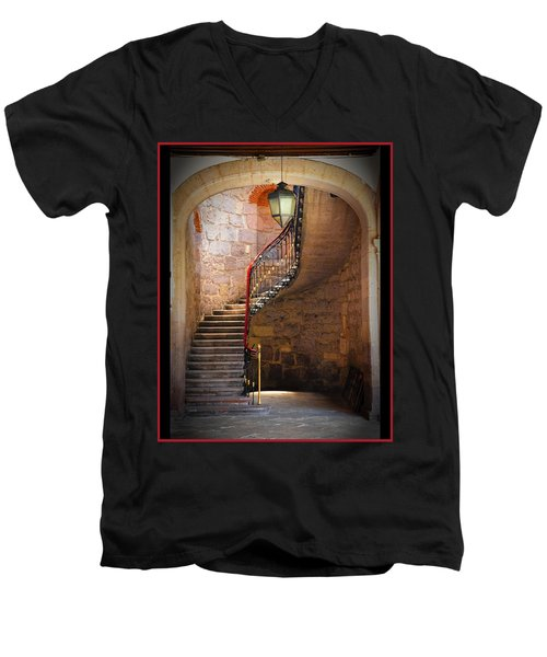 Stairway Of Light Men's V-Neck T-Shirt
