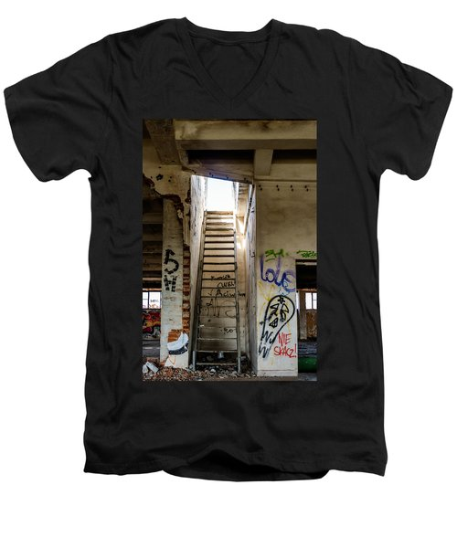 Stairway To Heaven? I Don't Think So... Men's V-Neck T-Shirt