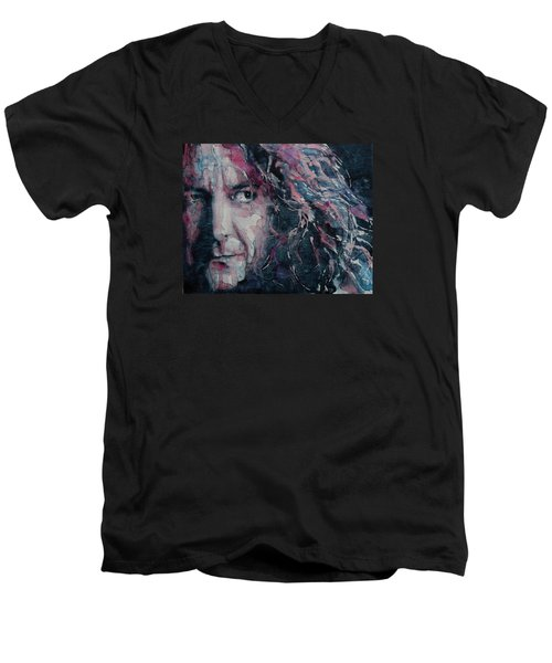 Stairway To Heaven Men's V-Neck T-Shirt by Paul Lovering