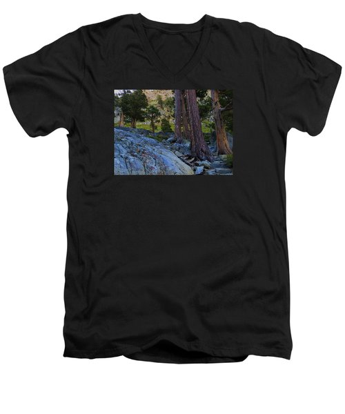 Men's V-Neck T-Shirt featuring the photograph Stairway To Heaven by Sean Sarsfield