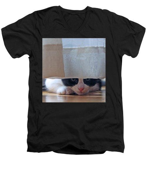 Stalking Me Men's V-Neck T-Shirt by Shoal Hollingsworth