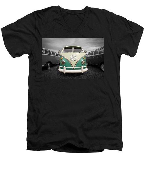 Standing Out Men's V-Neck T-Shirt by Steve McKinzie