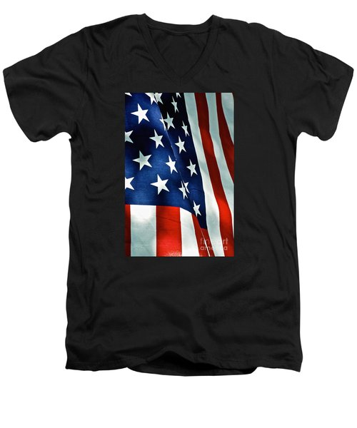 Star-spangled Banner Men's V-Neck T-Shirt