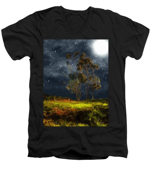 Starfield Men's V-Neck T-Shirt
