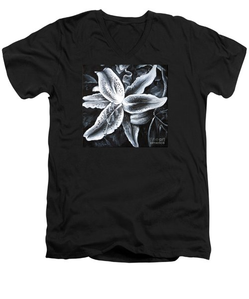 Stargazer Lilly Men's V-Neck T-Shirt