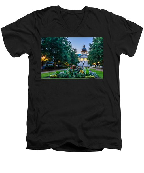 State House Garden Men's V-Neck T-Shirt