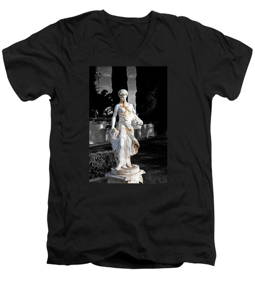 Statue Men's V-Neck T-Shirt